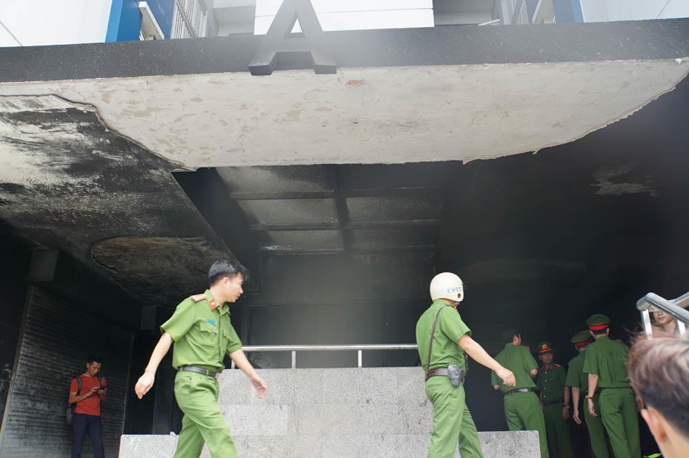 cháy chung cư,cháy chung cư Carina,hỏa hoạn,Sài Gòn,Carina Plaza,cháy chung cư Carina Plaza