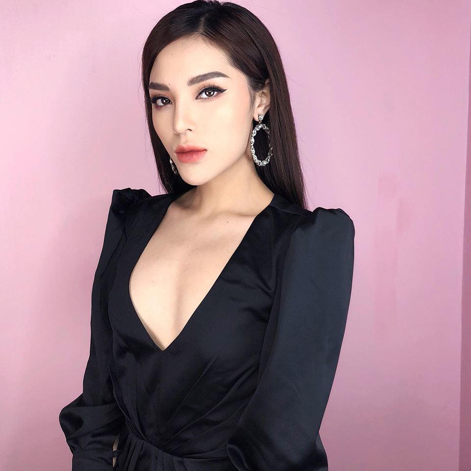 Vẻ đẹp nóng bỏng của Hoa hậu Kỳ Duyên