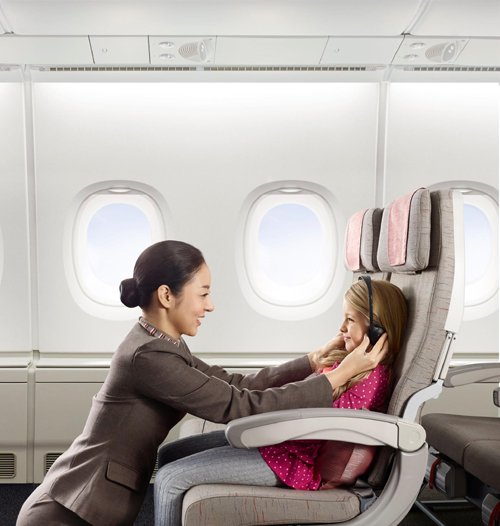 ASIANA AIRLINES dẫn đầu về mức độ hài lòng của khách hàng