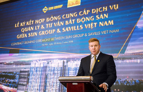 Sun Group mời Savills VN quản lý Sun Grand City Ancora Residence