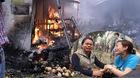 Cháy chợ Thanh Liệt, tiểu thương khóc hết nước mắt vì trắng tay