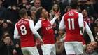 """""""Người dơi"""" Aubameyang chói sáng, Arsenal thắng """"3 sao"""""""