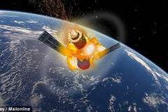 Xem trạm vũ trụ của TQ đâm sầm xuống trái đất