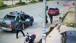 Đồng Nai: Hai băng nhóm nổ súng bắn nhau giữa đường