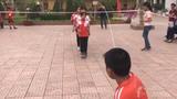 Nhảy dây liên 500 lần khiến người xem kinh ngạc