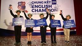 Tìm ra 5 thí sinh khả năng tiếng Anh xuất sắc trên toàn quốc