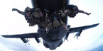 Xem lính Mỹ nhảy dù ngoạn mục
