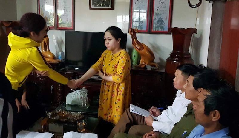 Phụ huynh đến nhà xin lỗi cô giáo mang thai bị đánh nhập viện