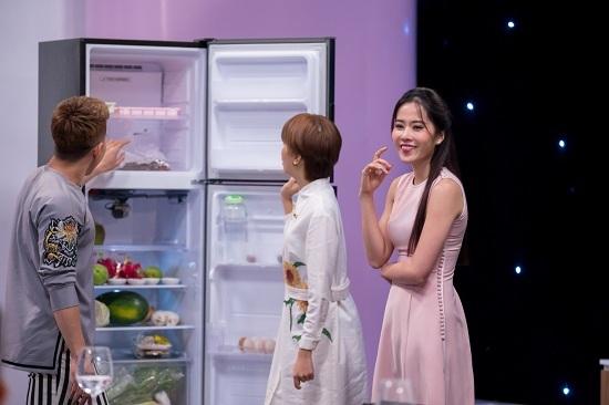 Nam Em từ chối đầu bếp đẹp trai 'thả thính' trên truyền hình