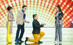 Lý Hùng cầu hôn Việt Trinh khiến MC Thanh Bạch đứng hình