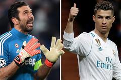 """Buffon: """"Tôi lạnh gáy khi đối mặt Ronaldo"""""""