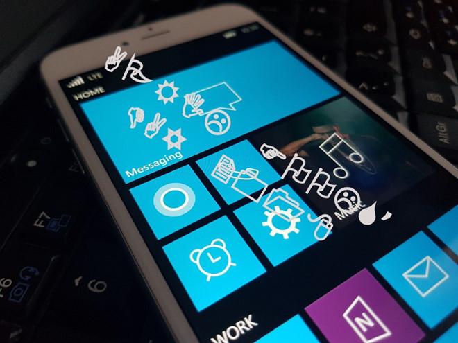 Windows 10 Mobile bất ngờ xuất hiện trên iPhone?