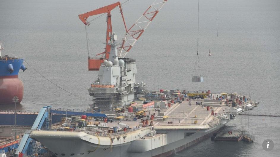 Bước đột phá của tàu sân bay do Trung Quốc chế tạo