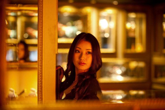 Tiếp viên nữ,Nhật Bản