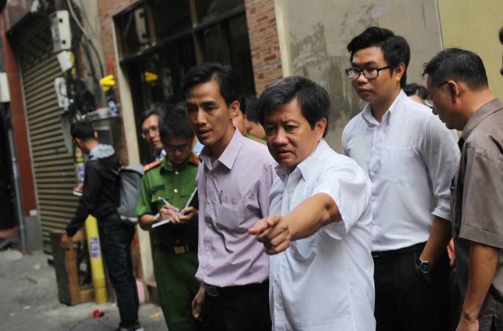 Lo cháy chợ trung tâm Sài Gòn, ông Đoàn Ngọc Hải yêu cầu trực 24/24