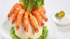 Độc đáo: Món tôm nấu nước cốt dừa