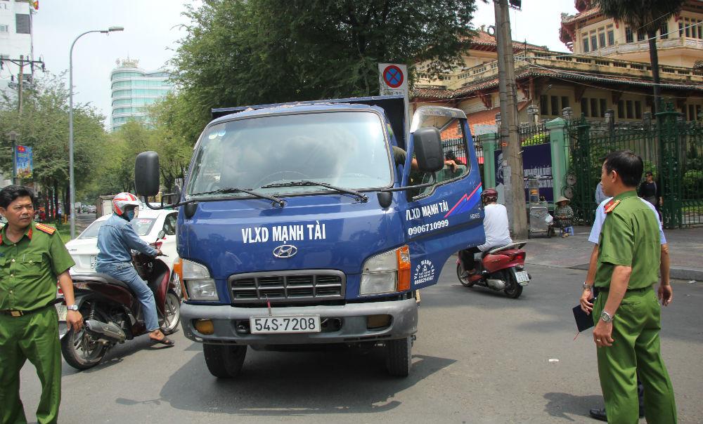 đoàn ngọc hải,sài gòn,xe tải,an toàn giao thông