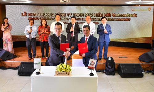 Khai trương Công ty TNHH MTV Kiều hối Vietcombank -VCBR