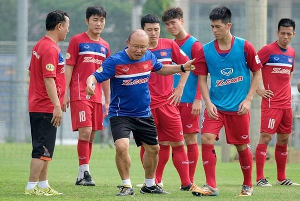 Tuyển Việt Nam,HLV Park Hang Seo,AFF Cup 2018,U23 Việt Nam
