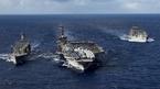 Tàu sân bay Mỹ, Trung Quốc lần đầu tiên đụng đầu trên Biển Đông?