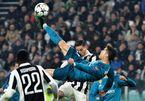 Ronaldo lập siêu phẩm, Real đặt một chân vào bán kết