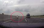 Vì sao nữ 'ninja' chạy ngược chiều bạt mạng trên cao tốc Hà Nội - Hải Phòng?