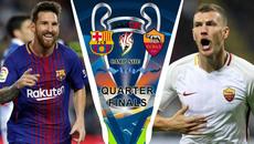 Trực tiếp Barcelona vs Roma: Cuộc chiến không cân sức