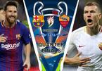 Barca vs Roma: Ronaldo gọi, Messi trả lời