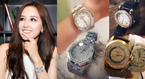 Choáng ngợp trước bộ sưu tập đồng hồ tiền tỷ của Mai Phương Thúy