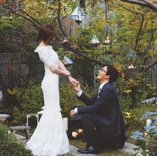 Vợ Bae Jong Yoon 'Bản tình ca mùa đông' sắp sinh con gái