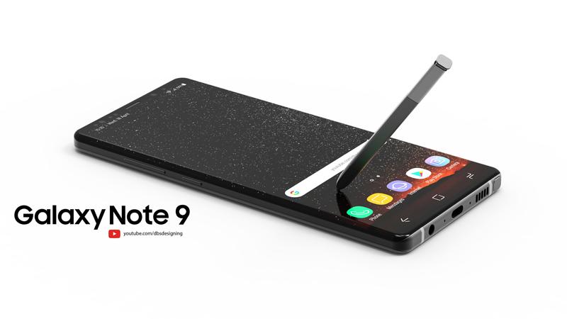 Lộ hình ảnh Galaxy Note 9 với thiết kế đẹp như mơ