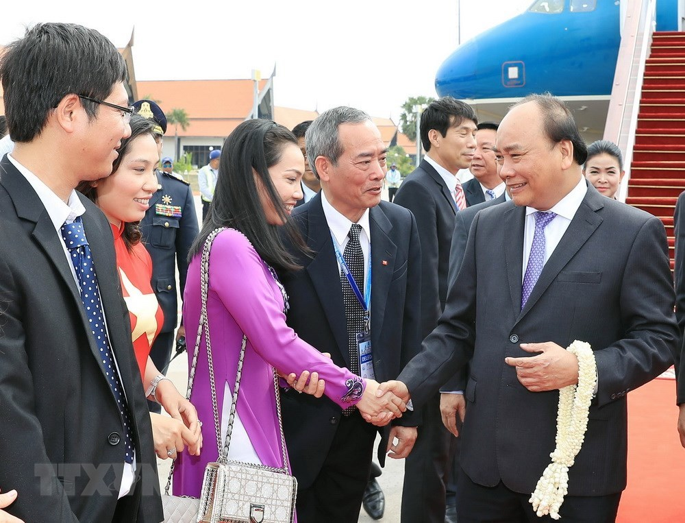 Thủ tướng Nguyễn Xuân Phúc,Nguyễn Xuân Phúc,Campuchia