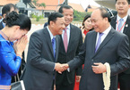 Thủ tướng đến Siem Reap, Campuchia