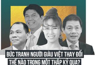 Bức tranh người giàu Việt thay đổi thế nào trong một thập kỷ qua?