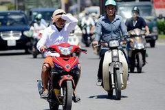 Tia cực tím tăng cao tại TP. Hồ Chí Minh