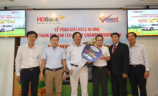 golf,Golf Việt Nam Top 500 CEO Championship 2018