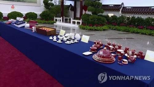 tặng quà,Trung Quốc tặng quà Kim Jong Un,Tập Cận Bình
