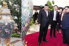 Trung Quốc tặng vợ chồng Kim Jong Un nhiều quà quý