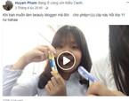 Nữ sinh Sài Gòn đang 'diễn sâu' bất ngờ bị cô giáo gọi đọc bài