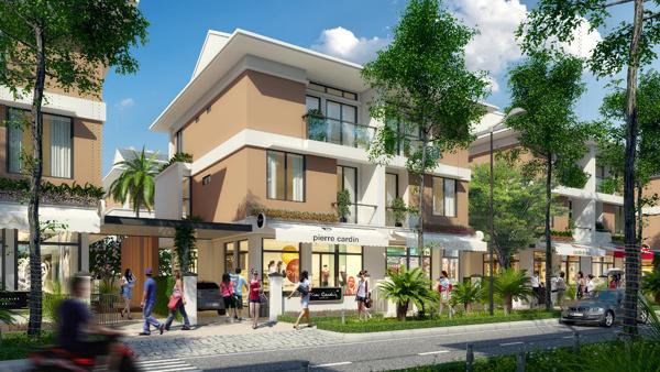 Shop-villa - mô hình nhà phố kiểu mới