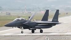 Tiêm kích Hàn Quốc đâm vào núi, phi công mất tích