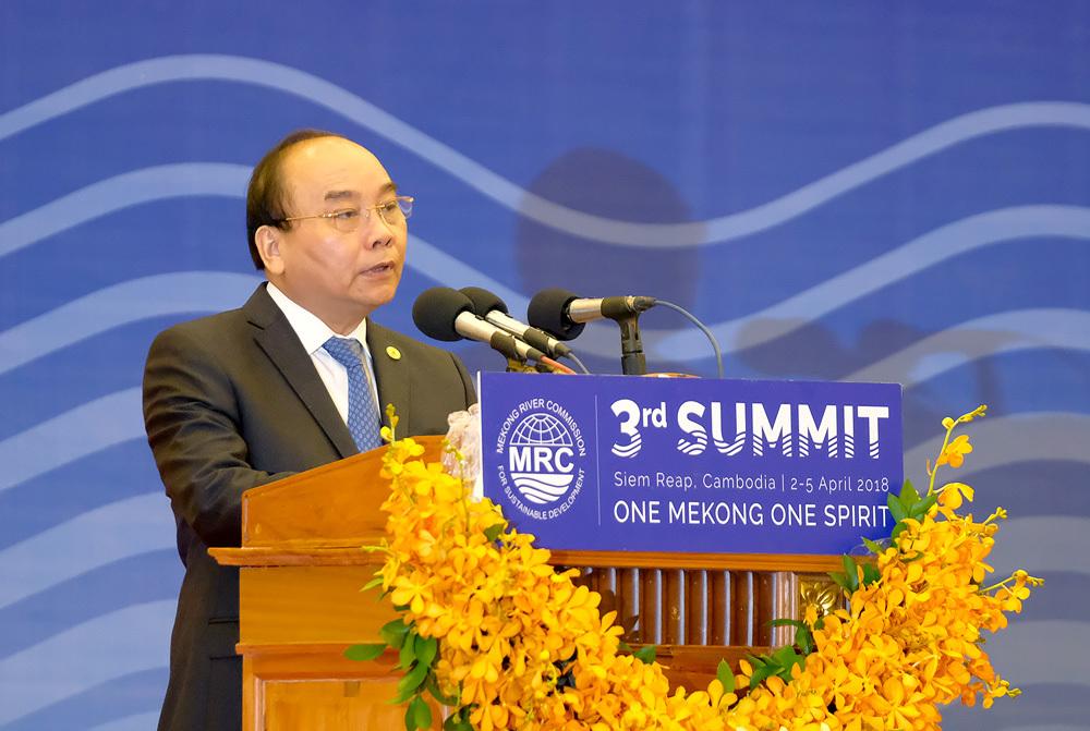 Thủ tướng Nguyễn Xuân Phúc,Nguyễn Xuân Phúc,sông Mekong