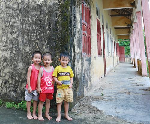 Ngôi trường thứ 7 Chubb Life VN tặng trẻ em vùng khó khăn