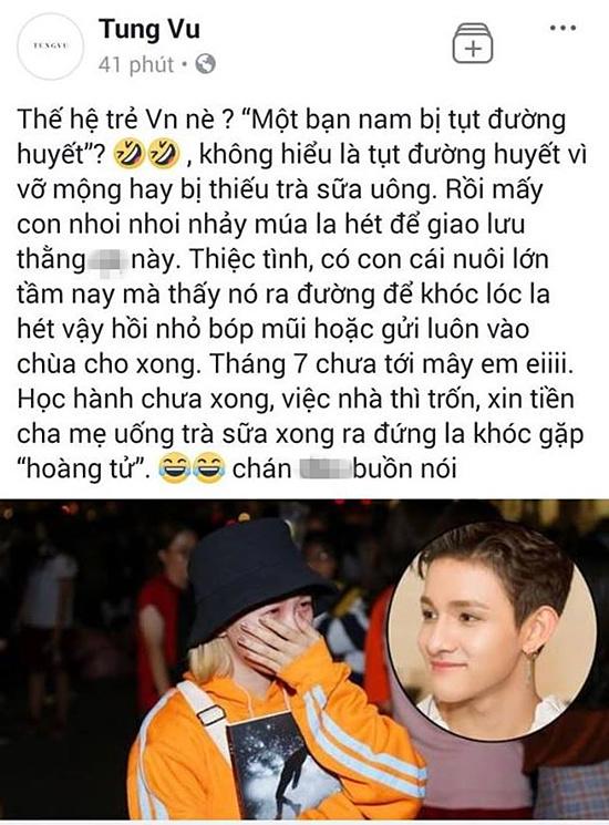 Fan Kpop giận dữ vì NTK trẻ xúc phạm Kim Samuel