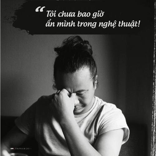 Lê Minh Sơn chưa từng 'ẩn mình' trong nghệ thuật