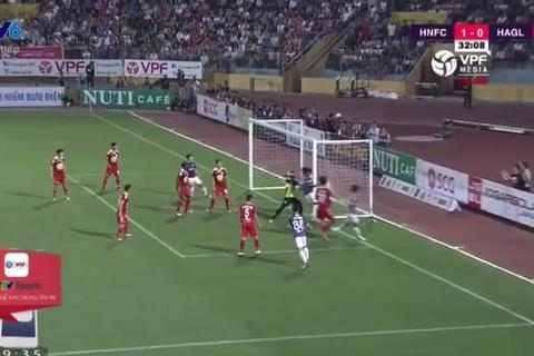 Hà Nội 1-0 HAGL: Chủ nhà mở tỷ số