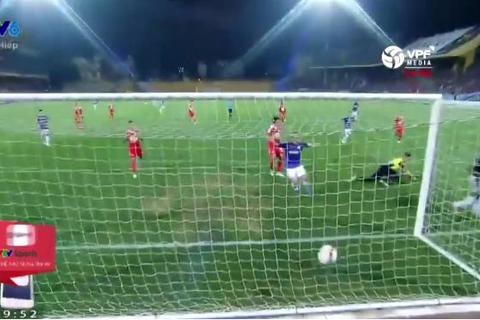 Hà Nội 2-0 HAGL: Oseni ghi bàn