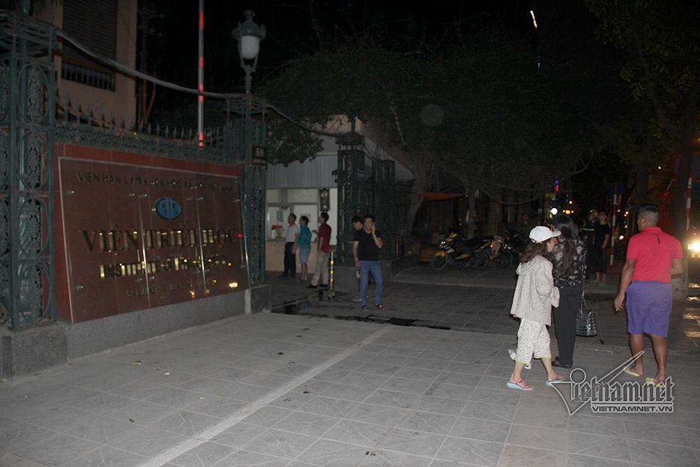 cháy nổ,cháy,hỏa hoạn,Hà Nội,Viện Triết học