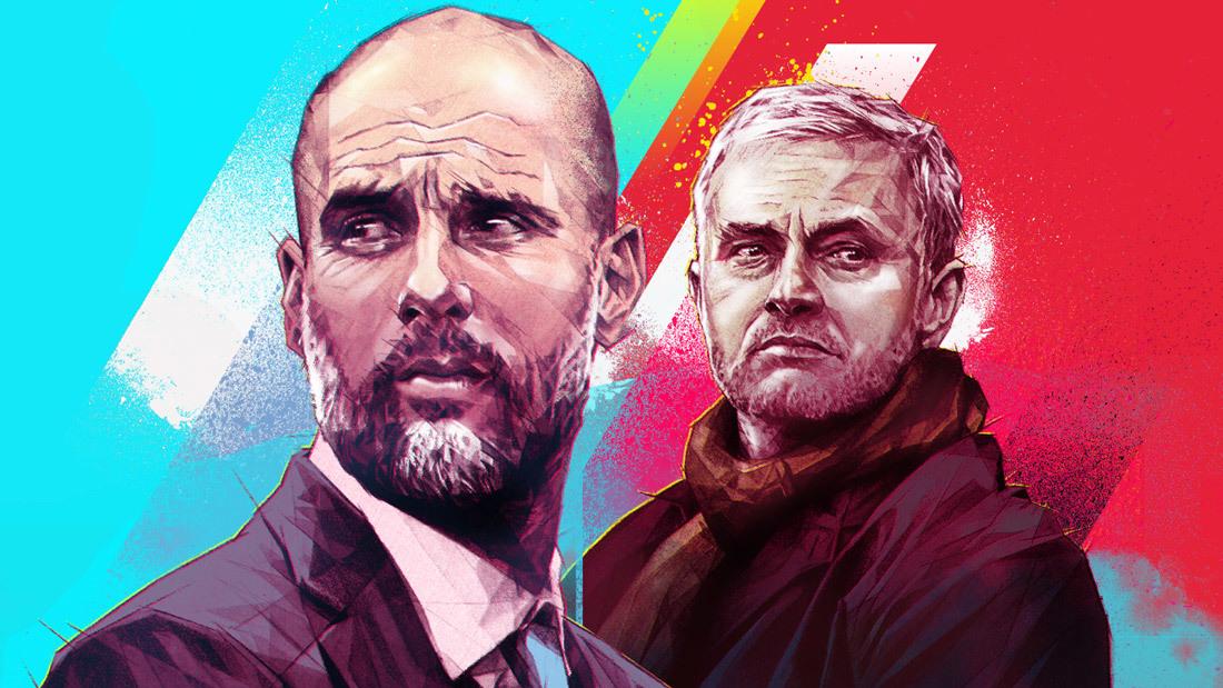 Man City đấu MU: Mourinho có cho Pep cơ hội 'rửa mặt'?