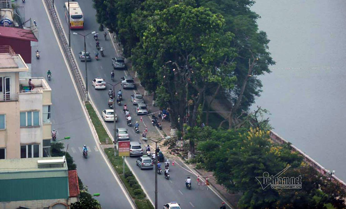 Hà Nội co hẹp đường Kim Mã, cấm taxi nhiều tuyến đường
